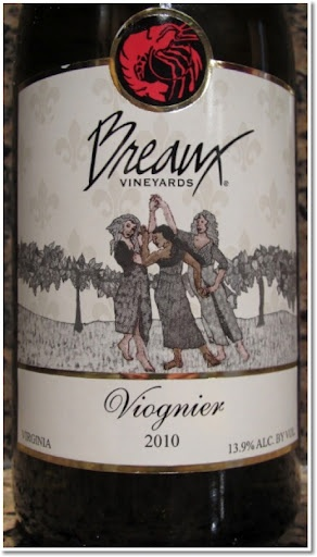 """Breaux Vineyards' Viognier was recently featured on Oz Clarke's """"Top 250 Wines in 2012""""."""