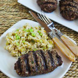 Hamburger Kebabs (Kabobs) Recipe (Delish with Tzatziki sauce!)