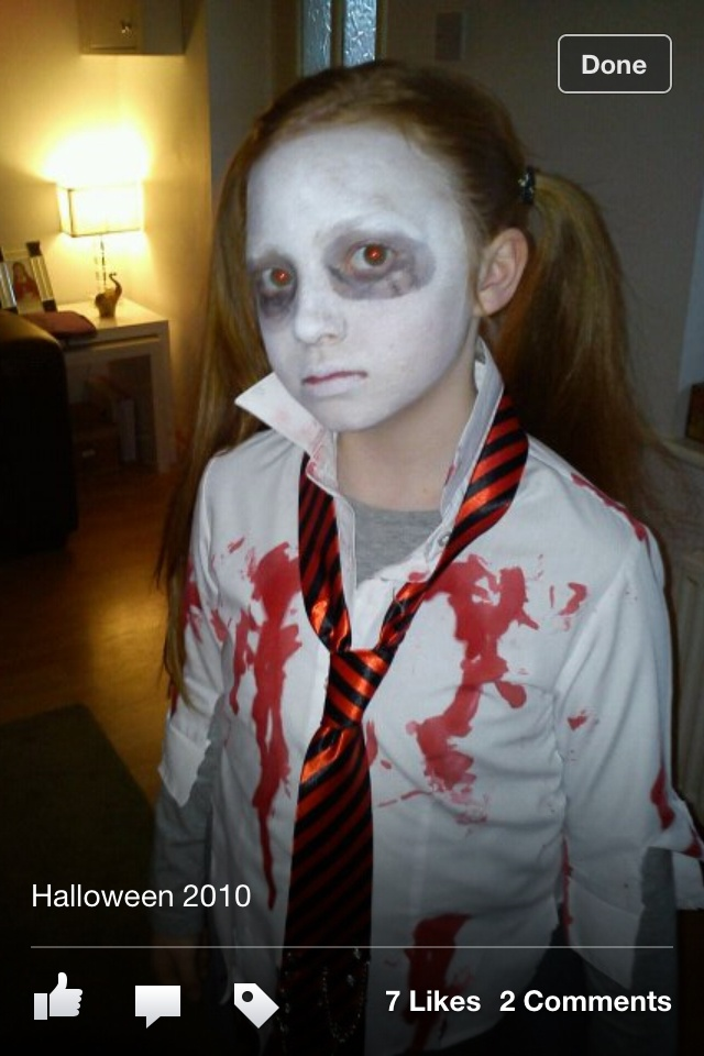 First Day Of School School Girl Halloween Makeup