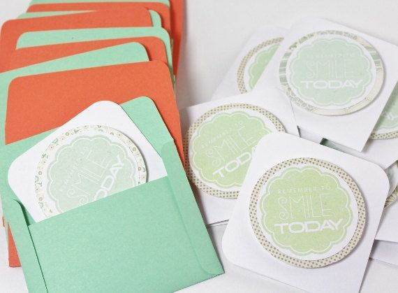 Minted Wedding Gift Tags : Mint Green and Coral cards...gift tags, wedding cards, wedding shower ...