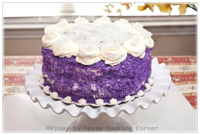 Pinay In Texas Ube Cake