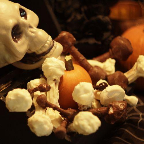 Marshmallow Bones Recipe — Dishmaps