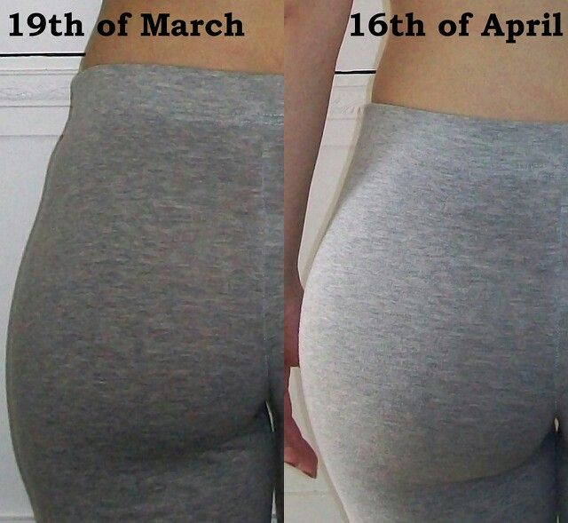 squats before and after   Fitness.   Pinterest