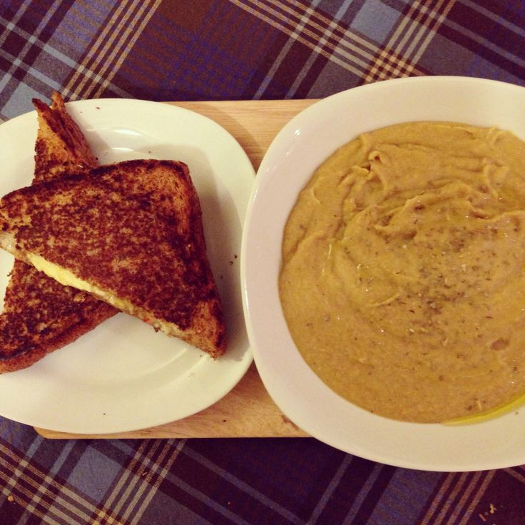 ... Parsnip Soup, Mango Chutney and Red Chilli Grilled Cheese Sandwich