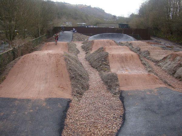 Backyard Bmx Pump Track : Backyards