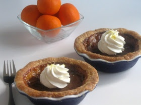 Searching for Dessert: Sweet Tea Pies with Lemon Whipped Cream