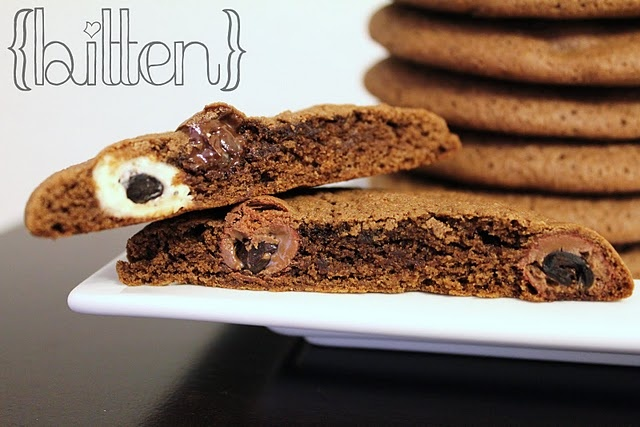 Chocolate-Chocolate Chip Espresso Bean Cookies #cookies #chocolate # ...
