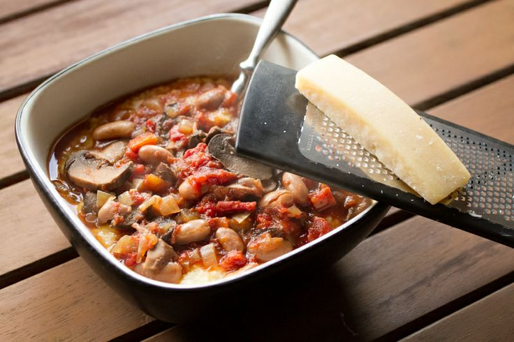 Slow Cooker Mushroom & Bean Ragout 1lb cremini mushrooms (sliced) 2 ...