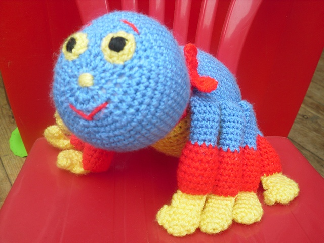 Knitting Pattern For Woolly The Spider : Woolly the spider from woolly and tig Woolly and Tig ...