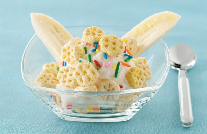 Lickity Split Crunch #recipe. Colorful sprinkles, crunchy cereal and ...