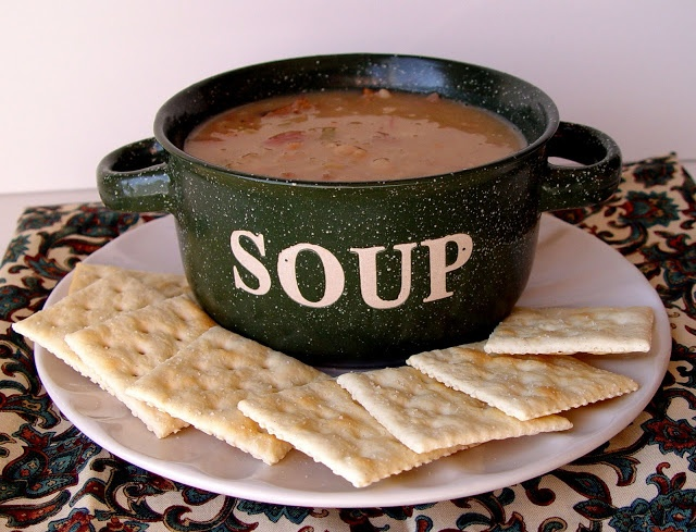 Bean and Ham Soup: We always make this around the holidays, with left ...