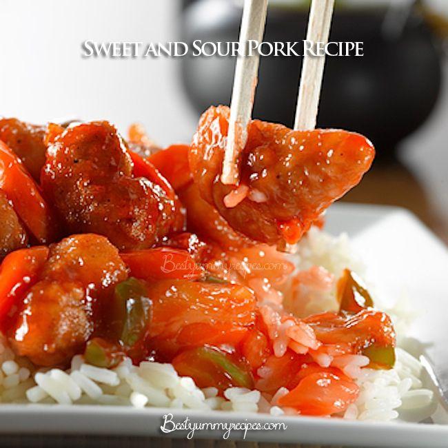 Sweet and Sour Pork Recipe - http://www.thinkarete.com/sweet-sour-pork ...