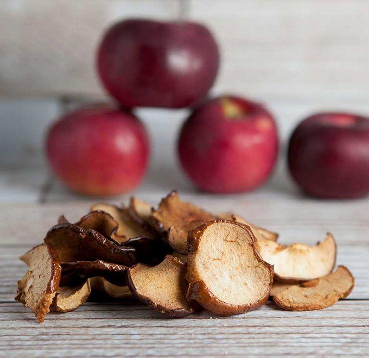 Brooklyn Farm Girl: Sea Salt Baked Apple Chips, a healthy and ...