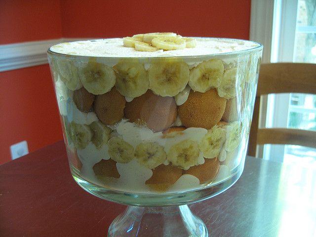 Banana/Nilla wafer trifle | Recipes Yum Yum =) | Pinterest