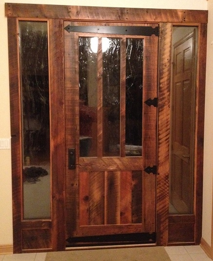 Rlp Reclaimed Solid Wood Doors Cabin Fever Pinterest