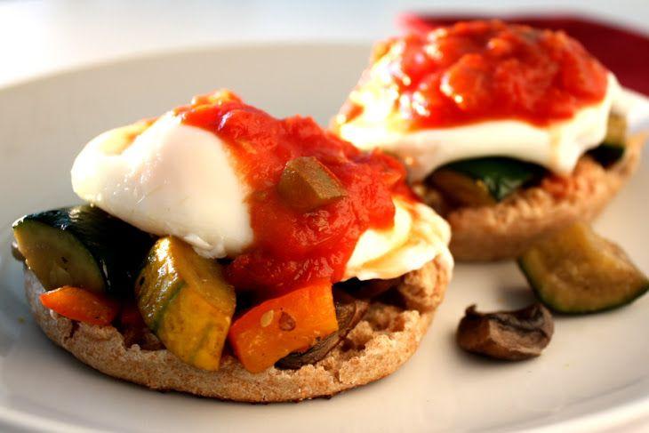 Vegetable Eggs Benedict Recipe | Recipe Ideas | Pinterest
