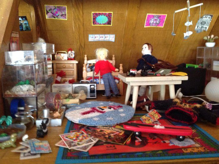 1980 s boys bedroom my dollshouse collection pinterest