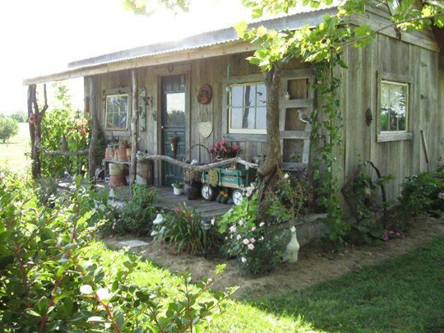 Cute Garden Shed Little Hidaway In The Woods Pinterest