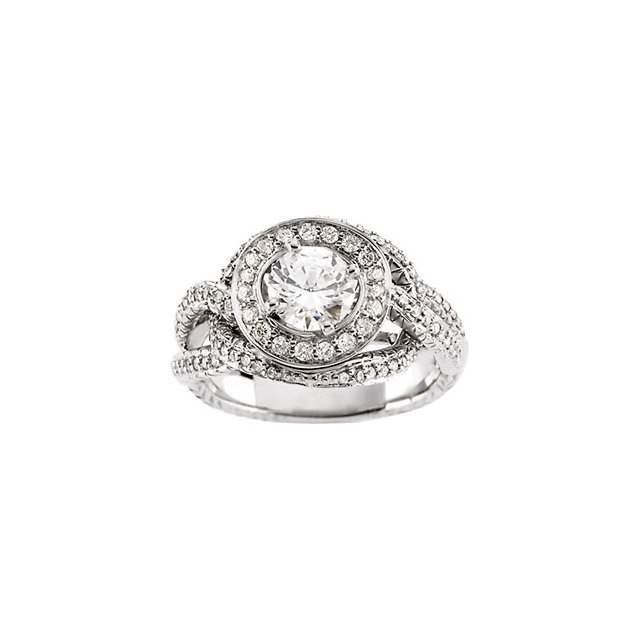the love knot halo engagement ring jewelry i love gem