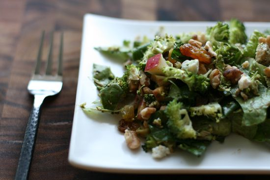 Broccoli crunch salad - for an quicker version of this, I use Annie's ...