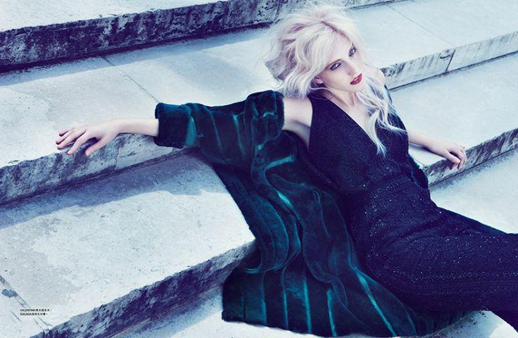 Iris Egbers for Harper's Bazaar Hong Kong September 2012