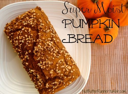 Super Moist Pumpkin Bread - Okay, I have a recipe for Pumpkin Bread ...