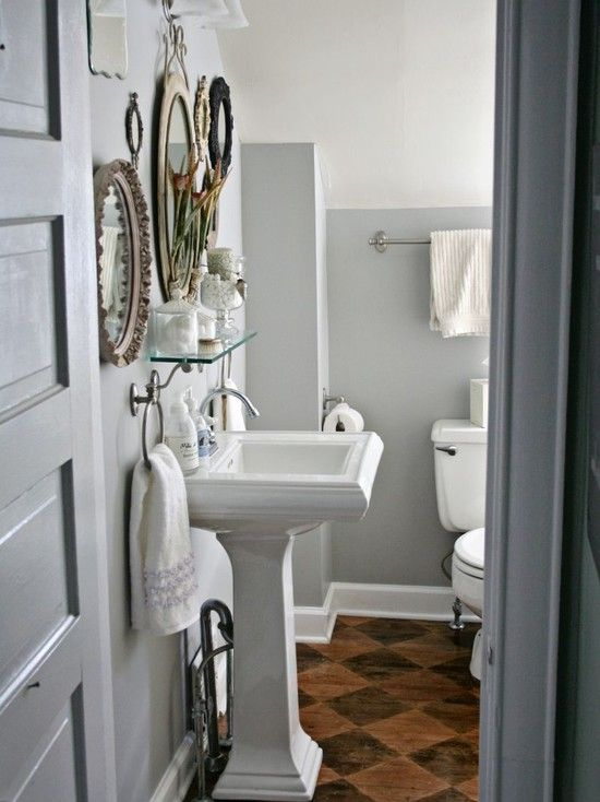 Half Bath Dream House Pinterest