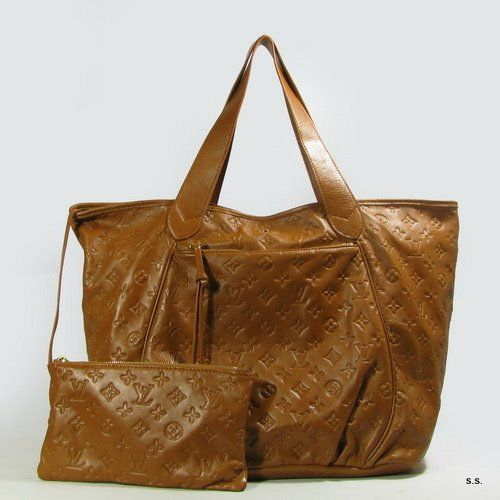 Louis vuitton authentic bag-earth yellow cowskin 92810 - $293