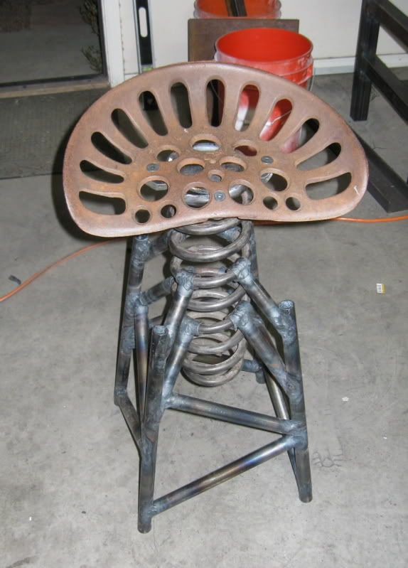 Tractor Seats Classrooms : Cool welding projects google search craftyness pinterest