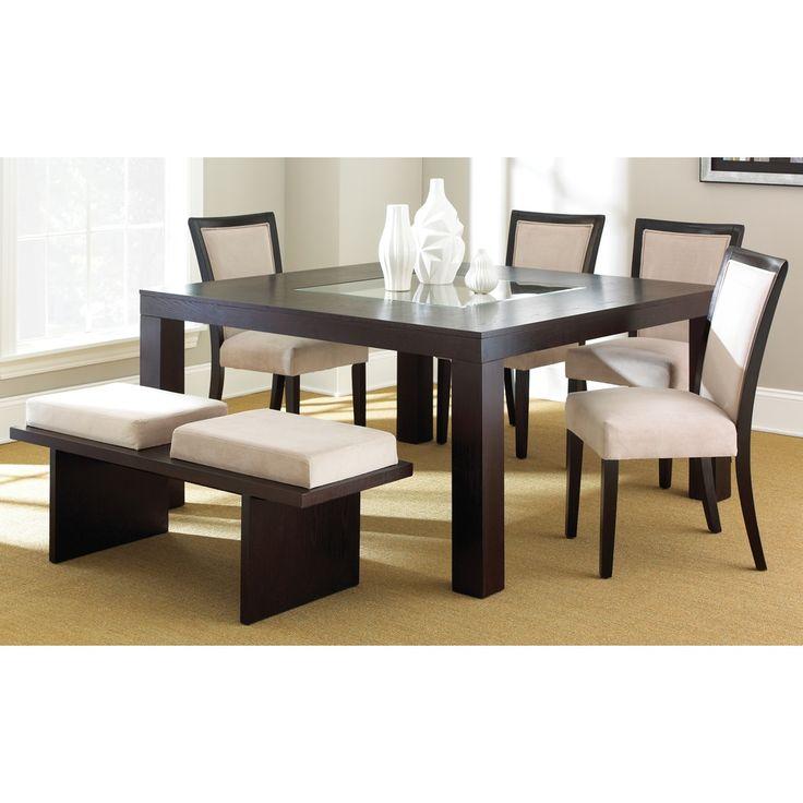 Madera espresso dining set for Dining room furniture specials