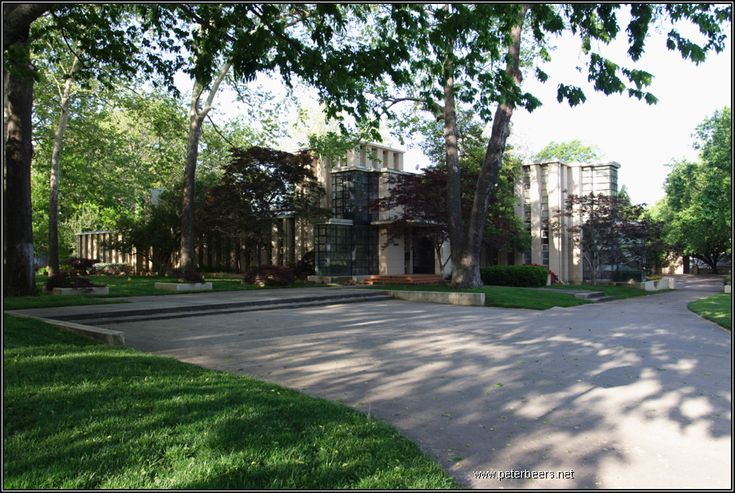Tulsa Ok Frank Lloyd Wright Home Style Pinterest
