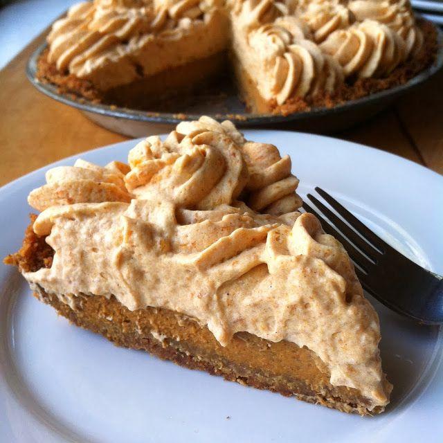 Pumpkin Mousse pie | Deserts | Pinterest