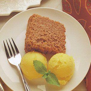 Tangerine Sorbet | Recipes - Ice creams, sorbet, jello, pudding, etc ...