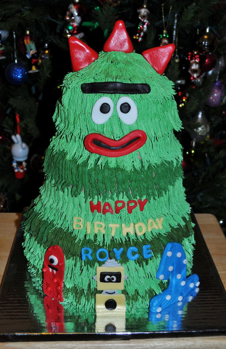 Brobee - Yo Gabba Gabba Cake | Sir Ritz Creations | Pinterest