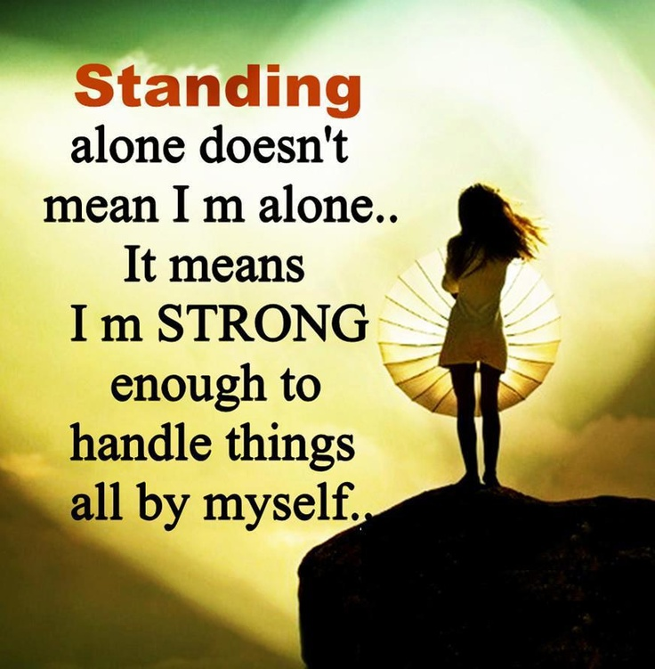 I AM Strong Enough | Quotes & Pictures