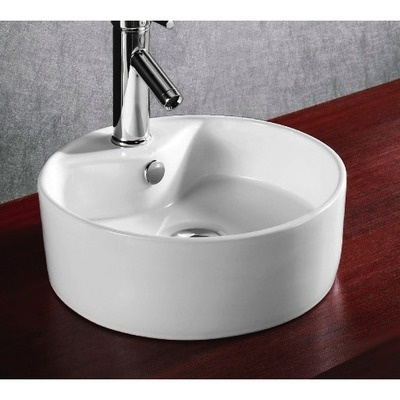 3 Hole Vessel Sink : 171.14 maybe for guest bathroom Caracalla 15.12