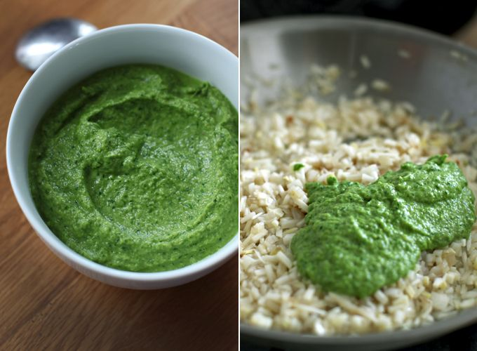 asparagus risotto from My New Roots | Food and Drink | Pinterest