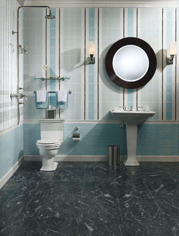 vertical stripe tile  Tile  Pinterest