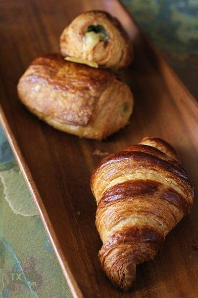 whole wheat croissants with sourdough starter