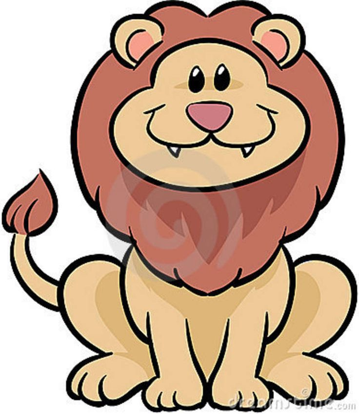 Cute lion drawing - photo#5