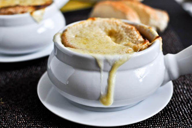 Crockpot French Onion Soup - How Sweet It Is