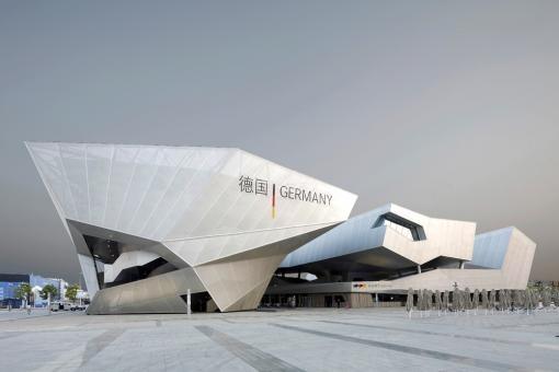 Balancity, the German Pavilion Expo 2010 in Shanghai - China