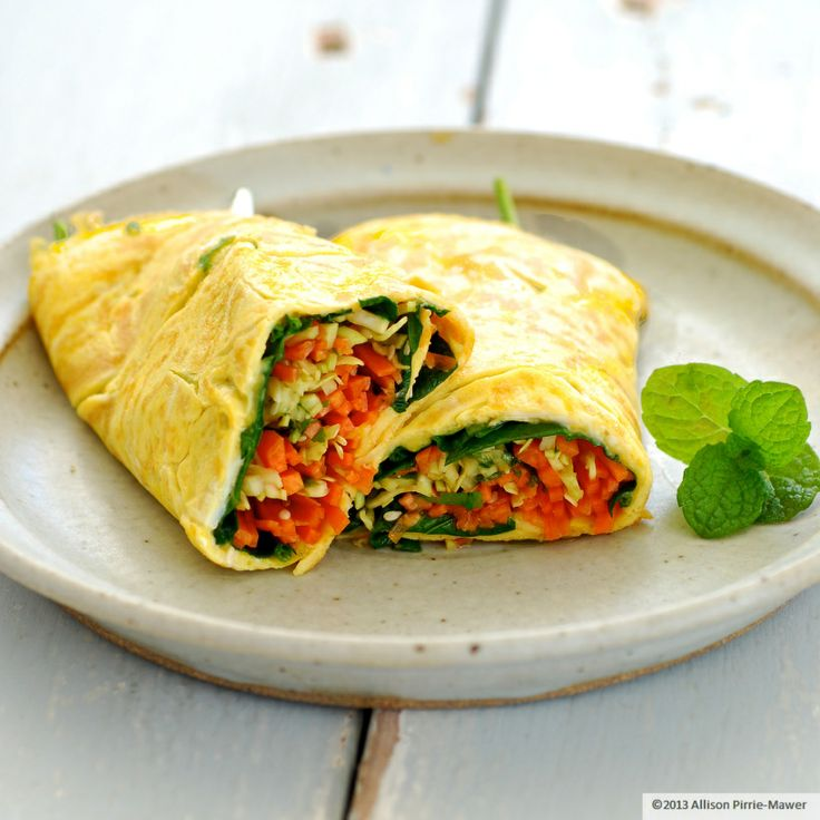 pad thai omelet | oh yum! | Pinterest