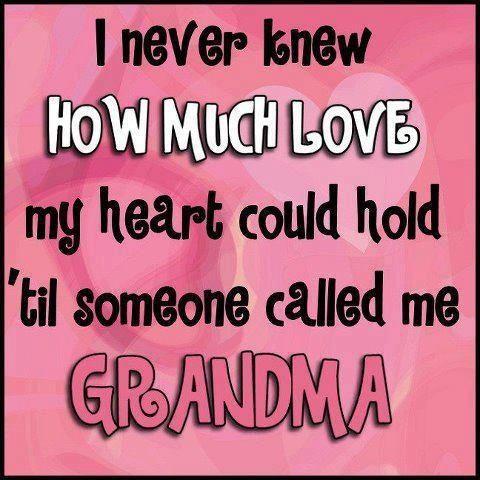 Cute grandma quote