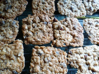 White Chocolate Raspberry Chewy Cranberry Oatmeal Cookies
