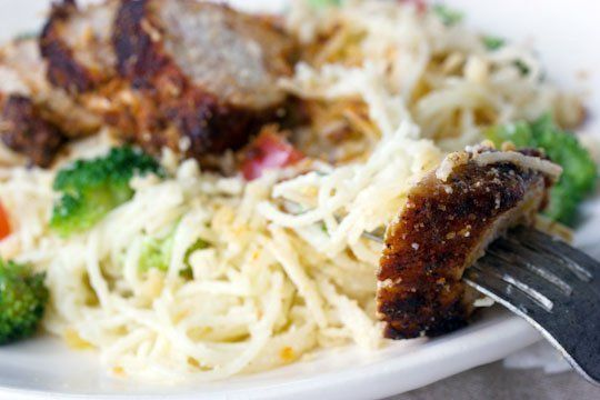 Recipe: Blackened Chicken with Creamy Angel Hair Pasta — Recipes ...