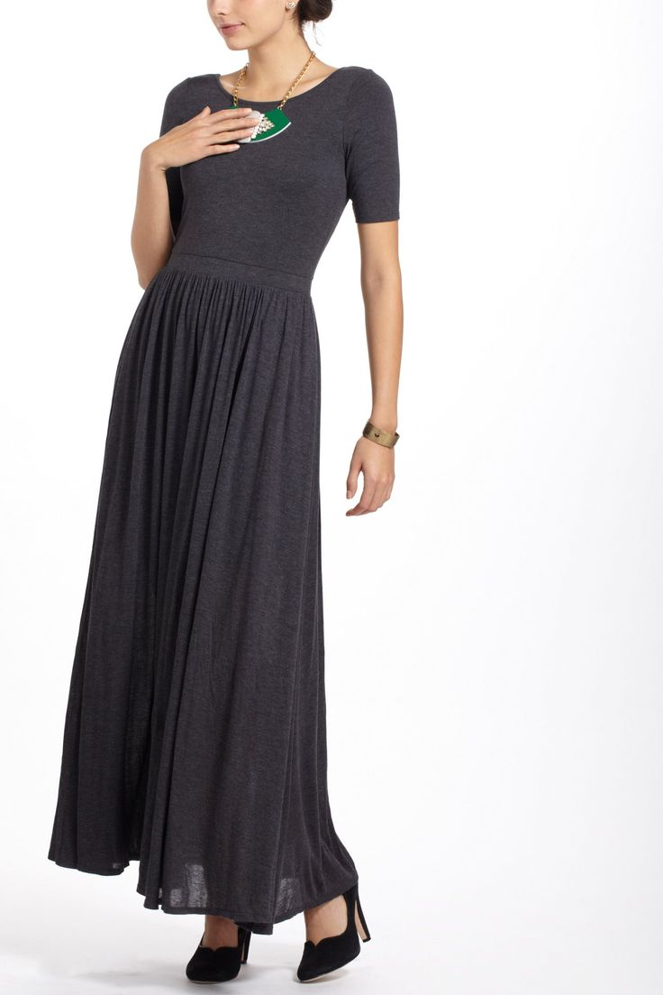 Scoopback maxi dress style beauty for Anthropologie mural maxi dress