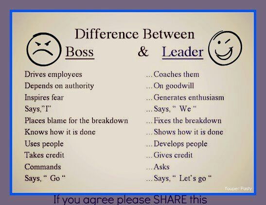 Although its in my screen name I never want to be a boss.