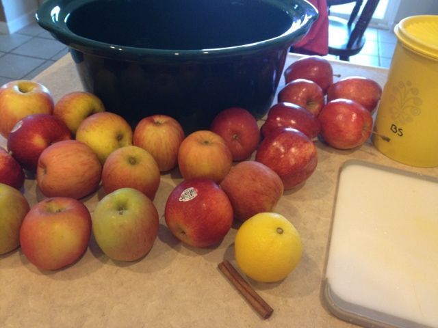 Crock Pot Applesauce | food | Pinterest