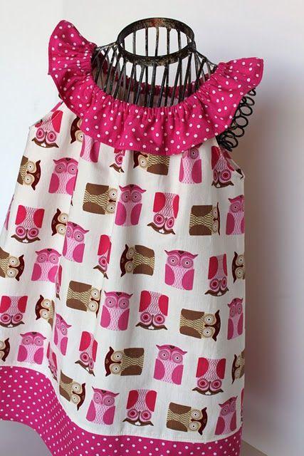 Cute variation of a pillowcase dress